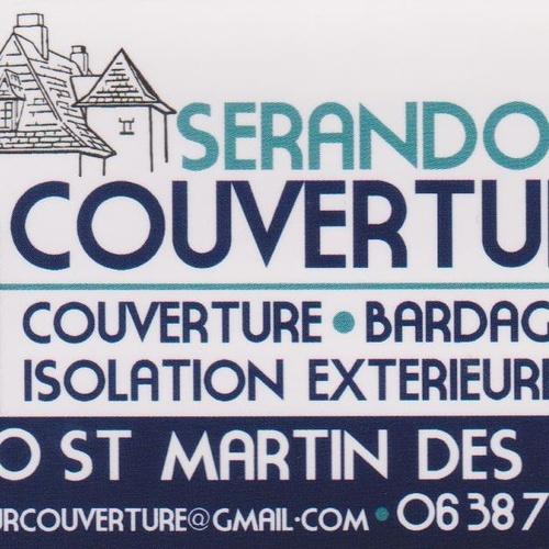 St Martin des Prés : Couverture Sérandour