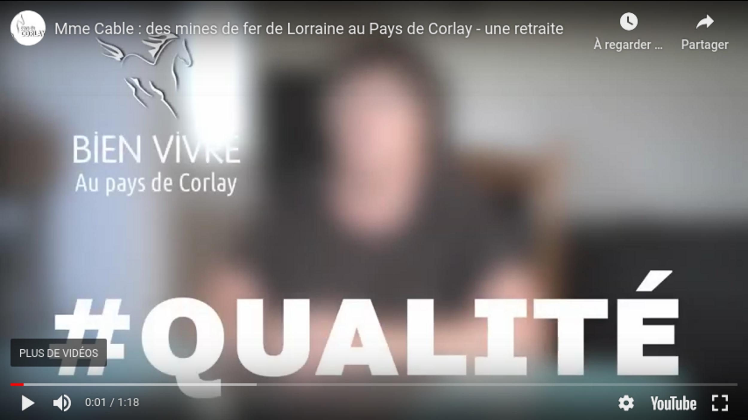 Mme Cable : des mines de fer de Lorraine au Pays de Corlay -