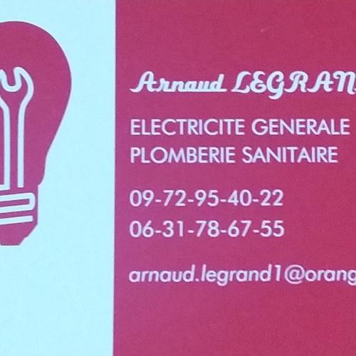 Saint-Marin-Des-Prés : Arnaud LEGRAND - électricité générale, plomberie sanitaire