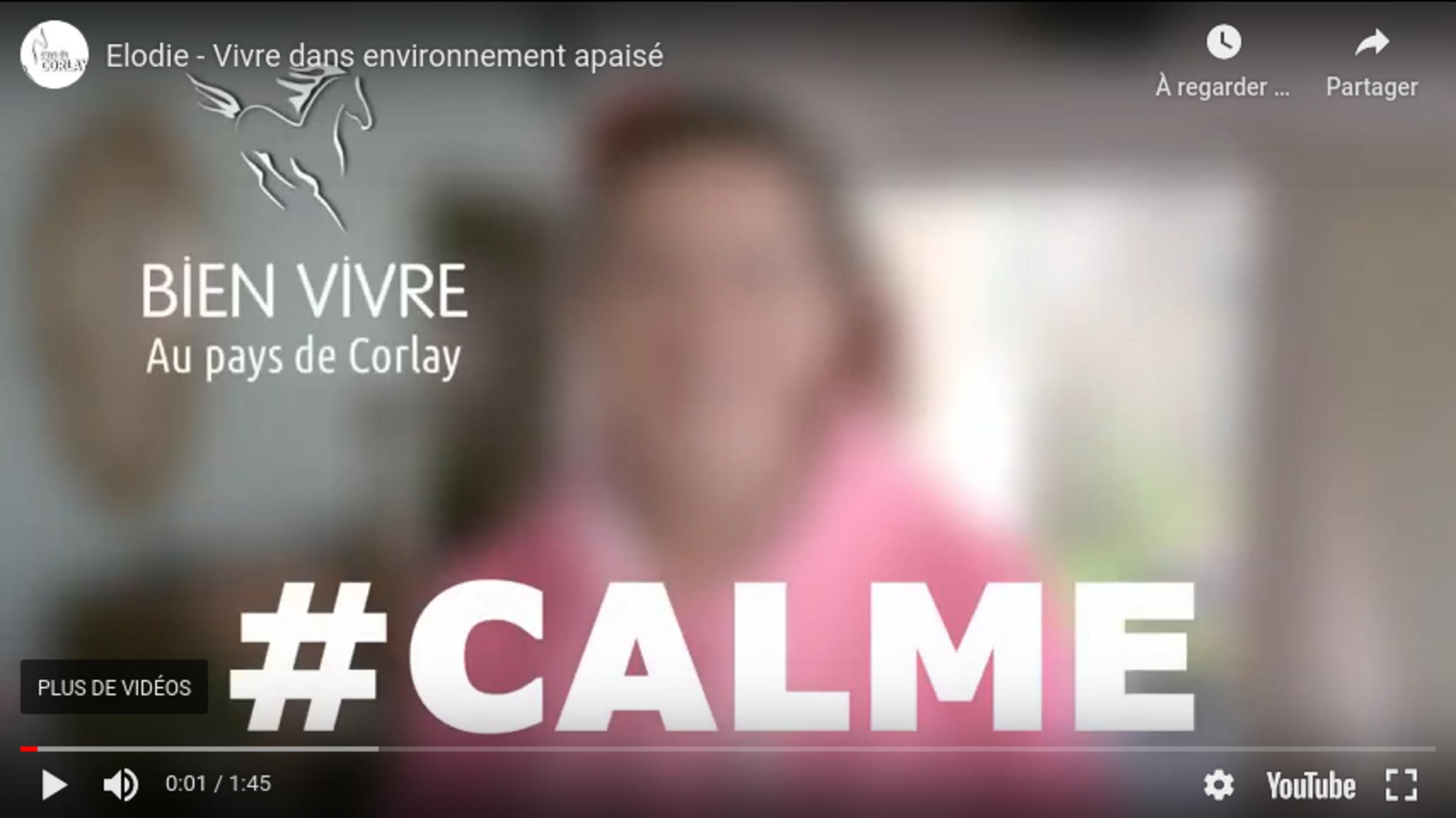 En vidéo : Elodie, vivre dans un environnement apaisé